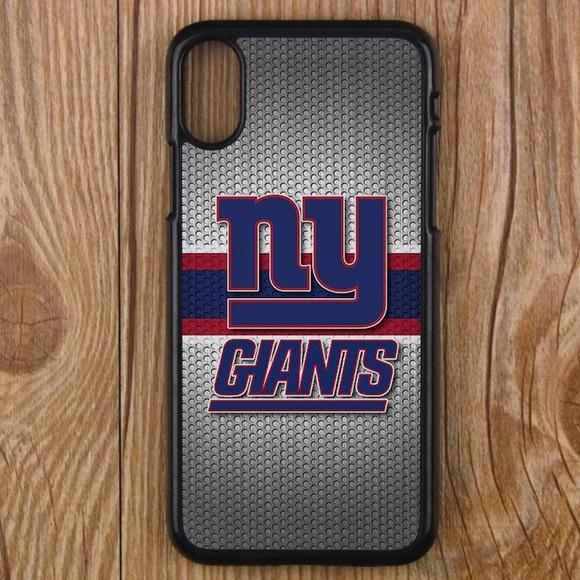 superior quality 5efad 41f56 New York Giants iPhone X 8 plus 7 6S 6 5C NFL case